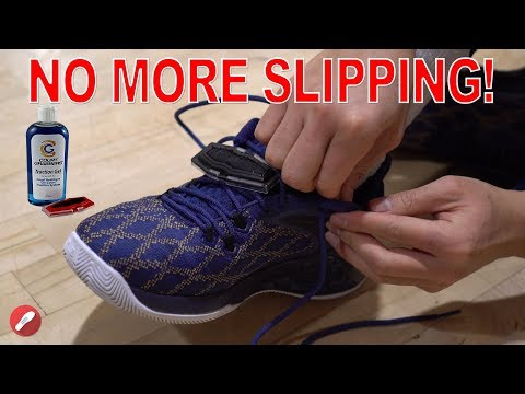 Court Grabbers! No More Slipping! Improve Traction!