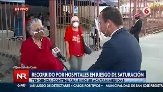 Hospitales del país en riesgo de saturación