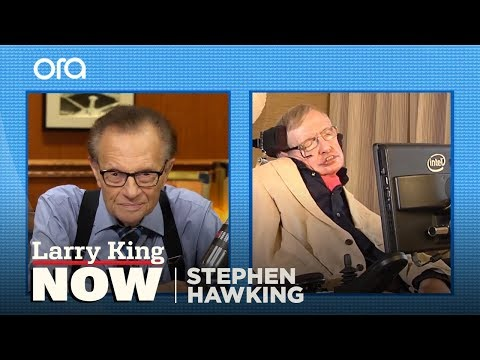 connectYoutube - Larry King's Exclusive Conversation with Stephen Hawking
