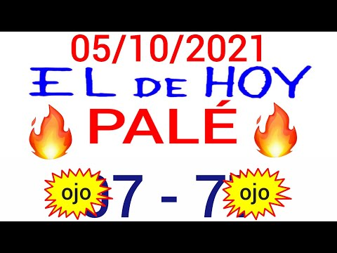NÚMEROS PARA HOY 05/10/21 DE OCTUBRE PARA TODAS LAS LOTERÍAS...! Números reales 05 para hoy...!!