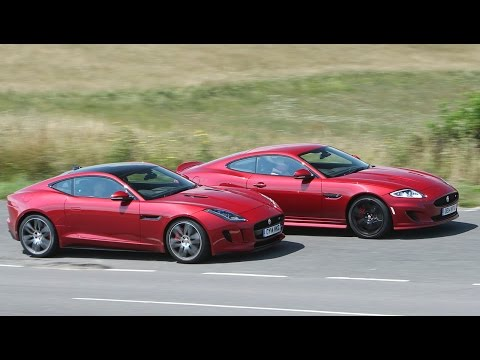 Jaguar XK Dynamic R and F-type R coup tested
