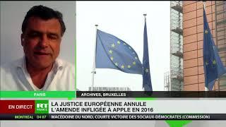 Apple : «La cour de justice de l'Union Européenne valide l'évasion fiscale»
