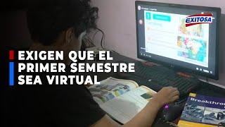 ????????Heli Ocaña: Exigen que el primer semestre del año escolar sea virtual