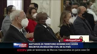 Haitianos en territorio dominicano serán inscritos en registro civil de su país