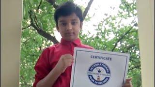 Hyderabad Boy, 10, Sets World Record At Underwater Speedcubing Contest - NDTV