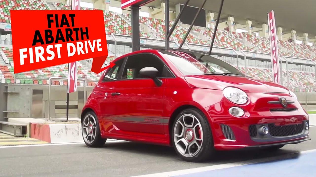 Fiat Abarth 595 Competizione : First Drive : PowerDrift