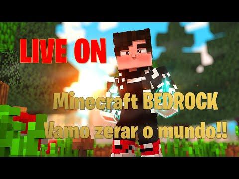 Minecraft - Survival Bedrock 1.17.11 - Vamos zerar o mine  ? - JOGANDO COM OS INSCRITOS #SORTEIO