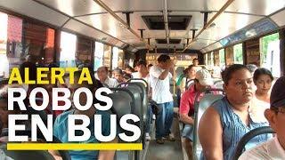 Alarma por ola de asaltos en unidades de transporte público