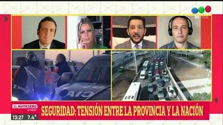 Sergio Berni FURIOSO en los CONTROLES de Puente La Noria: tensión entre Provincia y Nación - El Noti