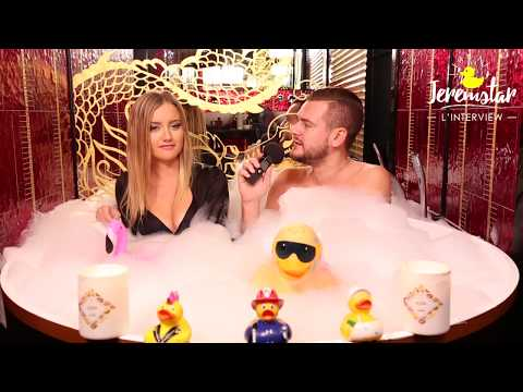 connectYoutube - Shirley (Secret Story 11) dans le bain de Jeremstar - INTERVIEW