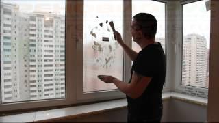 Защитная жидкая плёнка liquick на окна