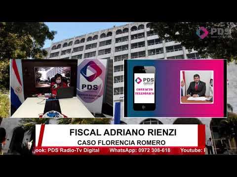 Entrevista- Fiscal Adriano Rienzi- Caso Florencia Romero