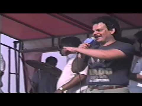 Jose Fajardo y sus Estrellas concierto en Orchard Beach video por Jose Rivera 1991