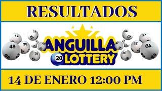 Resultados de la Loteria Anguilla Lottery 12:00 PM de hoy 14 de Enero del 2021