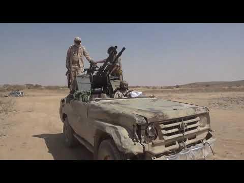 شاهد الجيش  يغنم آليات المليشيات الحوثي ويقتل العشرات .