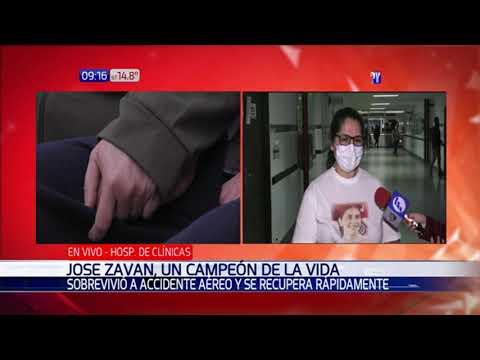 Esperanzador: José Zaván se recupera rápidamente tras cirugía