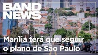 Justiça obriga Marília a seguir o plano de São Paulo