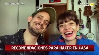 Recomendados para quedarse en casa:  Agustín Aristarán y Fernanda Metilli en Hoy Nos Toca