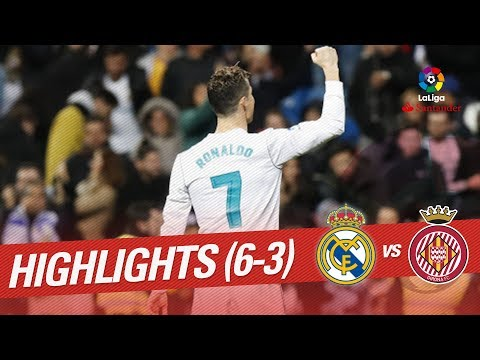 Resumen de Real Madrid vs Girona FC (6-3)