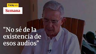 Álvaro Uribe responde tras las explosivas grabaciones sobre la compra de votos de Ñeñe Hernández |