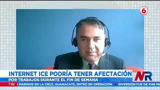 Internet del ICE podría sufrir afectación por trabajos durante el fin de semana
