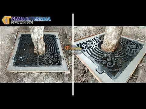 Grill Pengaman Pohon | Material Besi Cor