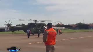 VICEMINISTRO DE DEFENZA CIVIL VISITÓ VIVIENDAS AF3CTADAS POR EL DESBORDE DEL RÍO EN GUANAY