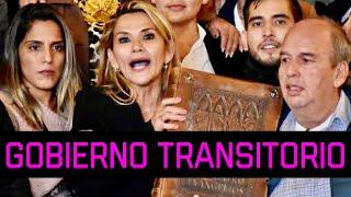 """¿GOBIERNO TRANSITORIO?JEANINE AÑEZ y SU """"GOBIERNO PACIFICADOR y TRANSITORIO""""¿CUAL ES TÚ OPINIÓN?"""