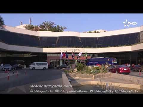 فيديو| من داخل فندق إقامة الفريق الوطني بمصر الجديدة