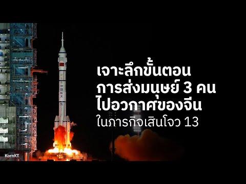 นักบินอวกาศจีน-เดินทางไปสถานีอ