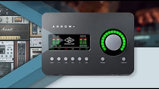 Create Something New. Introducing Arrow Thunderbolt 3 Audio Interface.