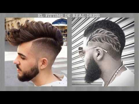 Cortes de cabello con figuras 2017