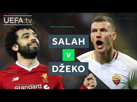 SALAH v DŽEKO: Will Liverpool or Roma make it to Kyiv?