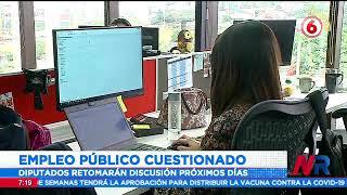 Proyecto de Empleo Público causa polémica