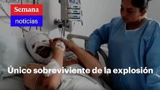 Así sobrevivió a explosión este hombre en el Cauca | Vicky en Semana