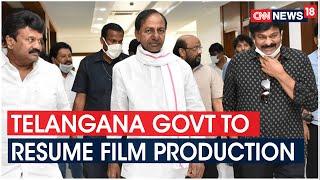 Telangana Govt To Take Call On Resumption Of Telugu Films Shooting | CNN News18 - IBNLIVE