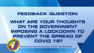 TVJ News: Feedback Question - March 31 2020