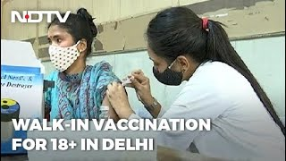 Coronavirus Vaccination: Delhi Vaccinated Over 1 lakh Beneficiaries On June 23 - NDTV