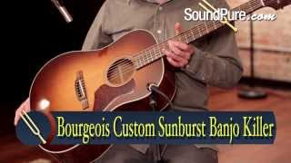 Bourgeois Custom Sunburst Banjo Killer (NAMM 2014) Demo