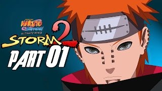 Naruto Shippuden: Ultimate Ninja Storm 2 - Walkthrough Part 1, Gameplay Xbox 360