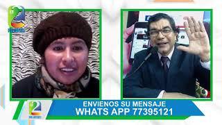 EN 2 PALABRAS: ENRIQUE SALAZAR ENTREVISTA A LA PRESIDENTA DEL SENADO DE BOLIVIA EVA COPA
