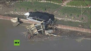 Miles de evacuados en Míchigan a causa de las inundaciones