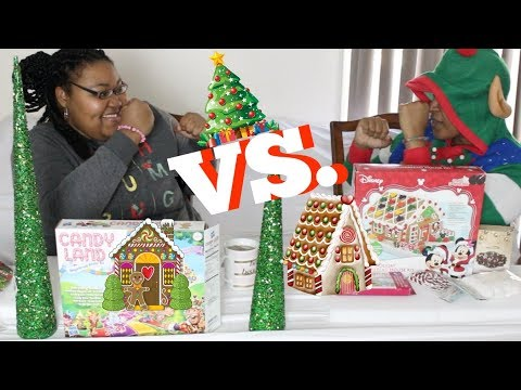 connectYoutube - GINGERBREAD HOUSE CHALLENGE 2017 (SISTER EDITION)