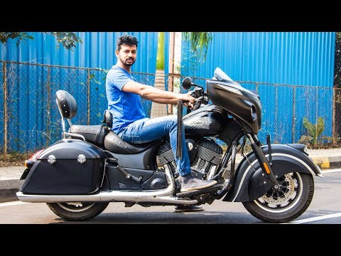 connectYoutube - Indian Chieftain Dark Horse Review - Music System Is 🔥   Faisal Khan