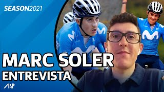 """MARC SOLER: """"En el GIRO tengo que probar si soy líder para las Grandes Vueltas"""""""