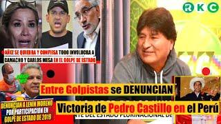 Evo Morales habla de la confesión de los golpistas - La victoria de Pedro Castillo en el Perú