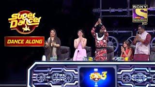 Jayshree और Anuradha ने Convey किया एक Beautiful Thought इस Dance Act से | Dance Along - SETINDIA