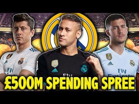 Should Real Madrid Spend €500M On Lewandowski, Neymar & Hazard | #SundayVibes