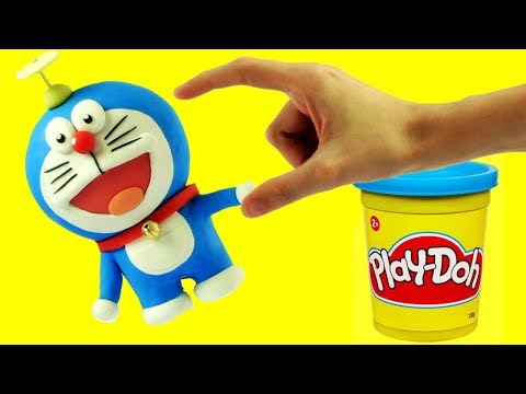 connectYoutube - Doraemonドラえもん - Superhero Play Doh Cartoons & Stop Motion Movies for babies