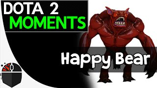 Dota 2 Moments - Happy Bear